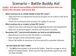 scenario battle buddy aid