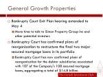 general growth properties1