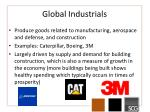 global industrials