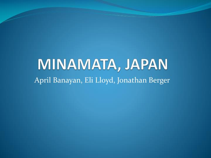 minamata japan n.