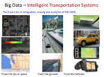 big data intelligent transportation systems