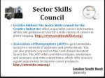 sector skills council
