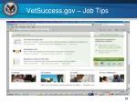 vetsuccess gov job tips