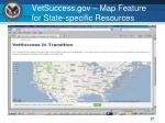 vetsuccess gov map feature for state specific resources