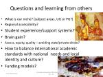 questions and learning from others1