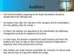 auditors