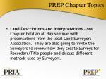 prep chapter topics4