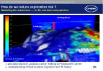 how do we reduce exploration risk modelling the subsurface in 4d real time and predictive