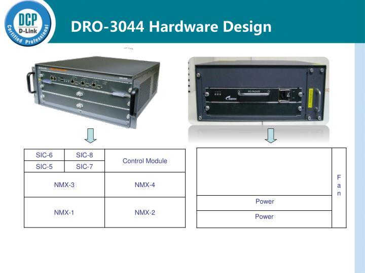 DRO-3044 Hardware Design