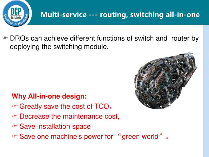 Multi-service