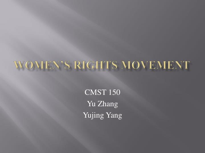 women s rights movement n.