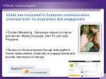 vitalia communication