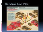 blackhawk down plan