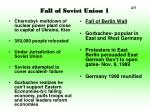 fall of soviet union 1