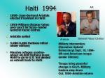 haiti 1994