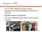 kosovo 19991