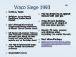 waco siege 1993