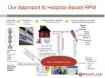 our approach to hospital based rpm
