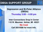 dbsa support group
