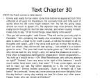 text chapter 30