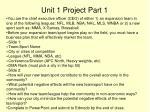 unit 1 project part 1