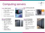 computing servers