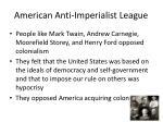 american anti imperialist league