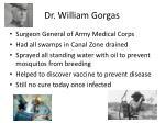 dr william gorgas