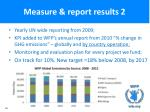 measure report results 2
