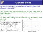 clamped string38
