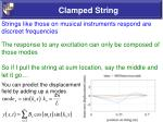 clamped string55