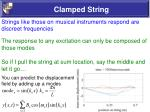 clamped string57