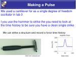 making a pulse