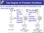 two degree of freedom oscillator2