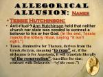 allegorical allusion names1
