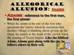 allegorical allusion names3