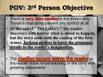 pov 3 rd person objective