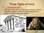 three types of irony1