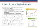 i wall street s big bull market