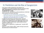 iv prohibition and the rise of gangsterisim