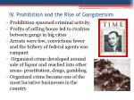 iv prohibition and the rise of gangsterisim1