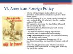 vi american foreign policy1