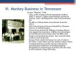 vi monkey business in tennessee