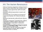 xiv the harlem renaissance
