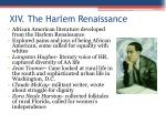 xiv the harlem renaissance1