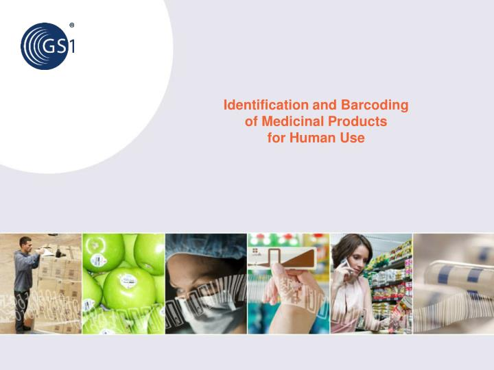 identification and barcoding of medicinal products for human use n.