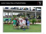 junior camp class at topgolf dallas