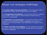 r ussir une campagne d affichage1