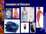 examples of classics