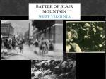 battle of blair mountain west virginia